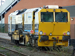 UK on-track plant (onewayticket) Tags: diesel engineering railway trains ontrackplant volkerrail matisa ballastregulator