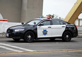 San Francisco Police Ford Taurus