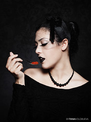 Caviar (taniavolobueva) Tags: red portrait black photo photographer tania tatiana   volobueva