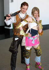 Balthier & Ashe (annaneko) Tags: cosplay 2008 bostonma fandom con ashe animeboston finalfantasyxii hynesconventioncenter balthier