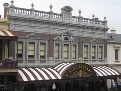 The Former Ballarat Mining Exchange  Lydiard Street, Ballarat (raaen99) Tags: city windows roof building brick window sign urn stone architecture facade grey iron arch 1987 wroughtiron pillar 19thcentury victorian australia arches landmark victoria business victoriana crown column verandah nationaltrust moulding queenvictoria pediment stucco offices ballarat goldrush initials balustrade gilt gilding nineteenthcentury fretwork classicism 1880s victoriaregina countryvictoria rusticated lacework heritagelisted commercialbuilding goldrushera buildingdate brickandstone brownbrick provincialvictoria lydiardstreet boomstyle 18871889 miningexchange ballaratminingexchange windowhoods bullnosedverandah pedement lydiardst dateplaque architecturallydesigned boomstyleclassicism victorianboomstyleclassicism victorianclassicism charlesdouglasfiggis charlesfiggis rusticatedarches