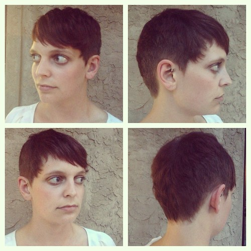 Short Haircut by Kayla smith