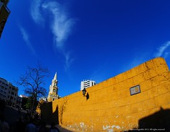 La Puerta del Reloj (Ivan Mauricio Agudelo Velasquez) Tags: park plaza cloud tree tower clock arbol torre monumento cielo reloj farol turismo could muralla nube caribe