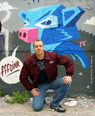 self1663 (Tommy Berlin) Tags: men nike jeans sneaker alpha levis shox bomberjacke