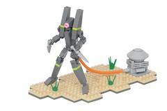 EVA-Reboot Prototype (pasukaru76) Tags: anime eva lego mech moc canon100mm evengelion microscale