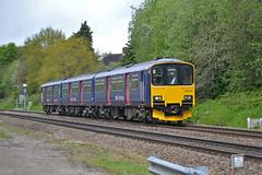 150002 Bentley Heath (MS Rail Photos) Tags: west train reading crossing railway brush level heath bentley firstgreatwestern loughborough solihull chiltern midlands tmd dorridge class150 150002