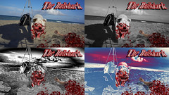 multi bullshark (sonya77pro) Tags: photoshop puppy movie fire graphicdesign blood funny kill adobephotoshop arm bull bulldog crack filter adobe ugly gradient horror terror mean englishbulldog bloody