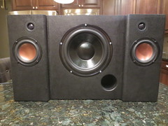 Completed Boombox without feet and handles (burritobrian) Tags: diy speaker boombox overnightsensations speakerbuild sd215a88