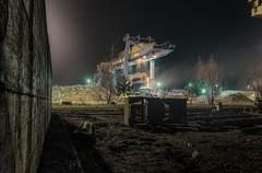 Trust (Markus Lehr) Tags: longexposure berlin industry industrial nightshot scrapyard nachtaufnahme scrapmetal langzeitbelichtung steelplant f1dot8 markuslehr