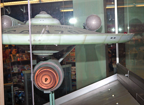 Starship U.S.S. Enterprise 11-foot filming model