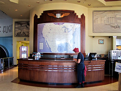 photo - Fantasy of Flight (Jassy-50) Tags: museum photo florida desk map rosietheriveter aviation rosie artdeco deco airmuseum aviationmuseum polkcity fantasyofflight