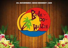 Baile do Hawaii (Jessica D'Azevedo) Tags: hawaii design do festa baile identidade