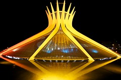 The cathedral at night [New Lighting] (Francisco Arago) Tags: brazil sky reflection monument latinamerica southamerica niemeyer horizontal braslia arquitetura brasil architecture night buildings reflections photography df colours photographer nightshot cathedral monumento postcard capital columns catedral cu structure cruz noite catholicchurch form fotografia formas reflexo reflexos fotgrafo catedralmetropolitana distritofederal fotonoturna amricadosul amricalatina colorido cristianismo catholiccathedral oscarniemeyer colunas estrutura eixomonumental esplanadadosministrios cartopostal planaltocentral centrooeste espelhodgua metropolitancathedral planopiloto arquiteturamoderna obradearte edificaes igrejacatlica pontoturstico canonef1635mmf28lii fotografo monumentalaxis capitaldobrasil canoneos5dmarkii atraoturstica copadomundo2014 arquitetooscarniemeyer templocatlico franciscoarago copadasconfederaes projetodeoscarniemeyer catedraldebrasilia catedralmetropolitanadebrasilia capitalinternacional