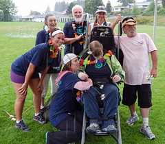YaY - 2013 Thrive & Shine (PowellRiverMobilityOpportunitiesSociety) Tags: family friends nature sunshine river coast back teams walks country trails together powell society mobility opportunities disability accessibility friendships trailrider