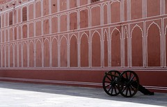 Cannon at City Palace (RunForrestRun) Tags: cannon jaipur citypalace