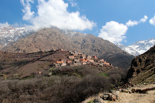 In The High Atlas Mountains