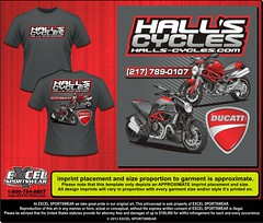 "Hall's Cycles 32303051 TEE • <a style=""font-size:0.8em;"" href=""http://www.flickr.com/photos/39998102@N07/8738287541/"" target=""_blank"">View on Flickr</a>"
