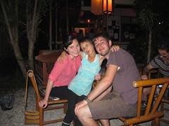Caitlin, Lay Lay Wa, and Ewan (offthebeatenboulevard) Tags: thailand orphanage volunteering maesot burmeseborder