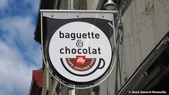 Baguette & Chocolat (Gerard Donnelly) Tags: sign enseigne