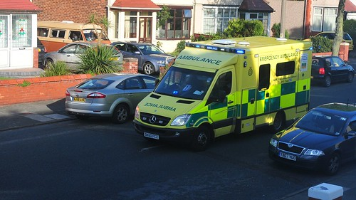 North West Ambulance Service Call out