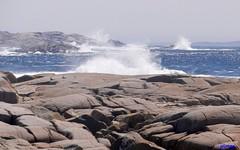Rough Sea (photo fiddler) Tags: ocean rocks may atlantic granite rough breakers 2013