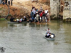 @MaryamSaleh_ A photo showing people escaping Helfaya, #Hama via the Orontes River yesterday. #Syria pic.twitter.com/NEt8oZToUj (JoindHands) Tags: people river freedom photo iran via syria yesterday showing hama  proxy arman  sabz escaping     orontes   a   kalame      jonbesh      maryamsaleh helfaya pictwittercomnet8oztouj