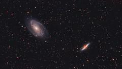 messier 81-82 (Graham M Green) Tags: ngc3034 galaxy ursamajor deepspace ngc3031 grahamgreen messier81 messier82 dslrastrophotography Astrometrydotnet:status=solved canon600d hantsastro m8182 Astrometrydotnet:version=14400 bodesnebulae canonrebelt3i officinastellare officinastellarehiperapo130 competition:astrophoto=2013 Astrometrydotnet:id=alpha20130509104506 apm130f6