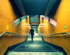 Night Crawling (Mykee Alvero) Tags: city travel urban art architecture night train hongkong design cities places