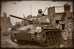 US Army M24 Chaffee light tank (PictureJohn64) Tags: light army us nikon tank traffic military transport historic commercial transportation bridgehead forces bussum routier leger lastwagen historique chaffee oorlog historisch histrico vervoer lastbil fuerzas m24 voertuigen krig 2013 lastebil landmacht historisk terrestres crailo d5100 landstreitkrfte picturejohn64 landstyrker