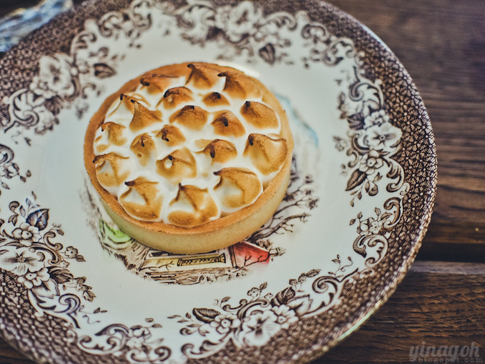 Carpenter & Cook Passionfruit Meringue Tart
