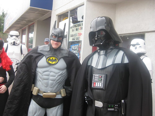 Batman and Vader