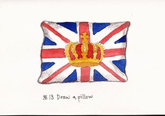 #13 Draw a pillow (sarabeee) Tags: