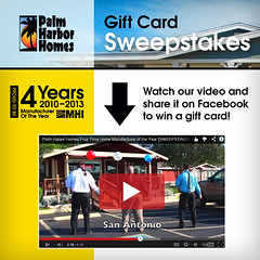 Gift Card Sweepstakes (Palmharbordotcom) Tags: homes home harbor video year palm card gift winner win builder facebook sweepstakes youtube qualify