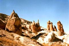 The ancient region of Anatolia (RiserDog) Tags: cappadoccia rockformations anatolia goreme cavedwellings fairychimneys centralturkey goremevalley