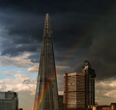 A rainbow over the Borough (ebenette) Tags: leica london photography m8 theborough summilux50mmasph thefistrainbowtoseeforalongtimeandinlondon