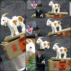 Goatception (ToyWiz.com) Tags: lego goat brickarms toywiz