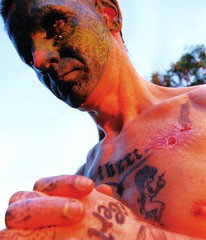 (Marta Marley) Tags: tattoo piercing tat tatuaje facetattoo tuerto facepiercing facialtattoo perforacin tatuajefacial piercingfacial martamarley