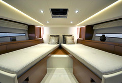 Prestige 450 S (BoatTEST.com) Tags: test layout design boating stateroom berth boattest boatreview performancetest 450sport prestigeyachts prestige450s