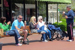Ice cream on the plaza (runneralan2004) Tags: newjersey capemay