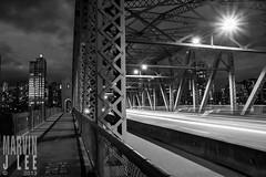 Vancouver - Burrard Bridge-1438 (Marvin J. Lee) Tags: street city travel bridge urban canada art architecture modern night vancouver buildings photography lights cityscape time scenic scape luminous marvinjlee