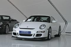 Porsche 911 GT3 (997) (Richard de Heus) Tags: white cars racecar utrecht 911 porsche exclusive supercar gt3 997 louwman