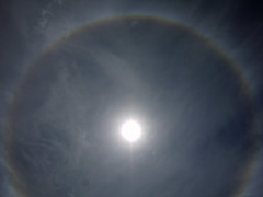 Sun Halo_08 (AbbyB.) Tags: blue sky sun rainbow halo