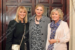 Orla Phelan, Aisling McEvoy and Anne Culleton at Ray and Esther Heffernan celebrations.
