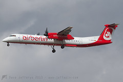 D-ABQE Q400 Air Berlin (JaffaPix) Tags: airplane flying frankfurt aircraft aviation flight aeroplane airline aba fra airliner dash8 bombardier airberlin frankfurtairport q400 eddf dabqe