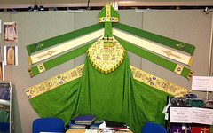 For the well dressed bishop :) ( Georgie R) Tags: surrey mitre bishop cope stole esher sandownpark christianresourcesexhibition