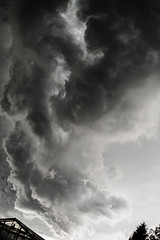 Dark Cloud (S.Lacin) Tags: cloud storm black canon dark eos grey heaven wind himmel wolke grau tamron schwarz dunkel sturm 1100d