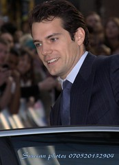 Henry Cavall (iron_smyth48) Tags: red portrait white man celebrity film shirt hair carpet star eyes tie event jacket actor premiere celeb