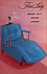First Lady model 413-T Dryer Lounge (1950sUnlimited) Tags: advertising postcards advertisements midcentury