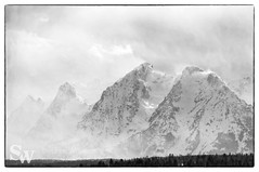 storm_bw_03 (StephenWilliDesigns) Tags: blackandwhite snow storm mountains weather jackson wyoming tetons grandteton jacksonhole grandtetonnationalpark