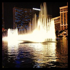 Bellagio fountains ! Just #beautiful